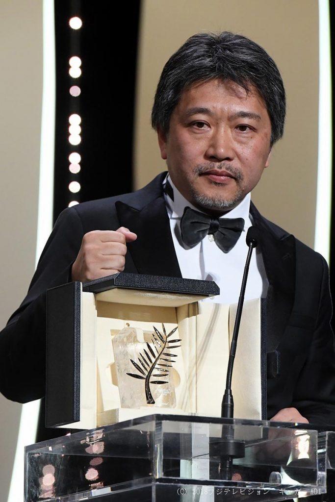 电影「小偷家族」荣获第71届坎城国际影展‧金棕榈奖!
