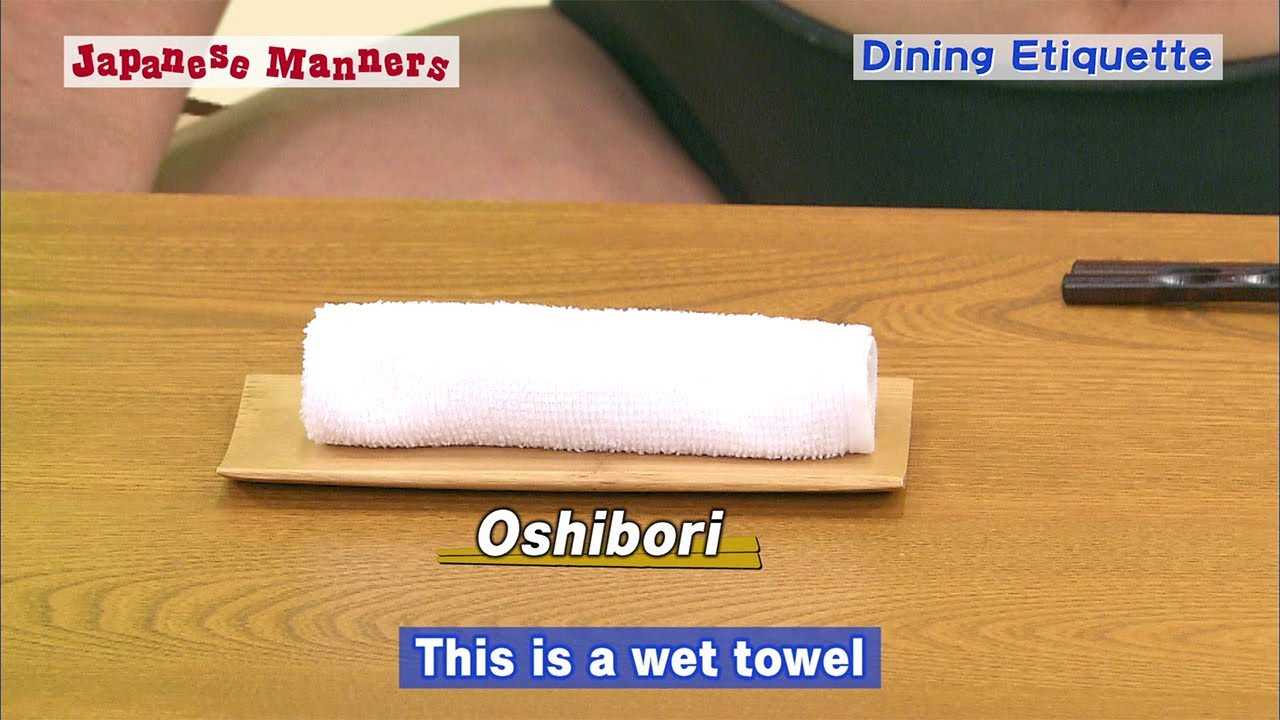 Japanese Manners: Dining Etiquette 3