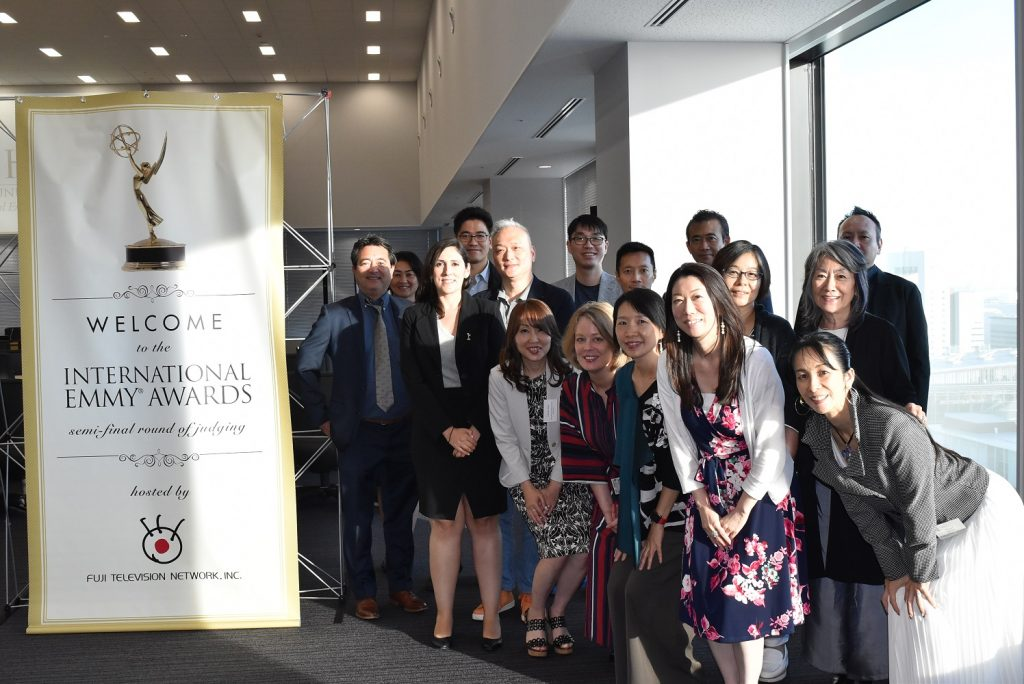 FUJI TELEVISION HOSTS 46th INTERNATIONAL EMMY® AWARDS SEMI-FINAL ROUND OF JUDGING
