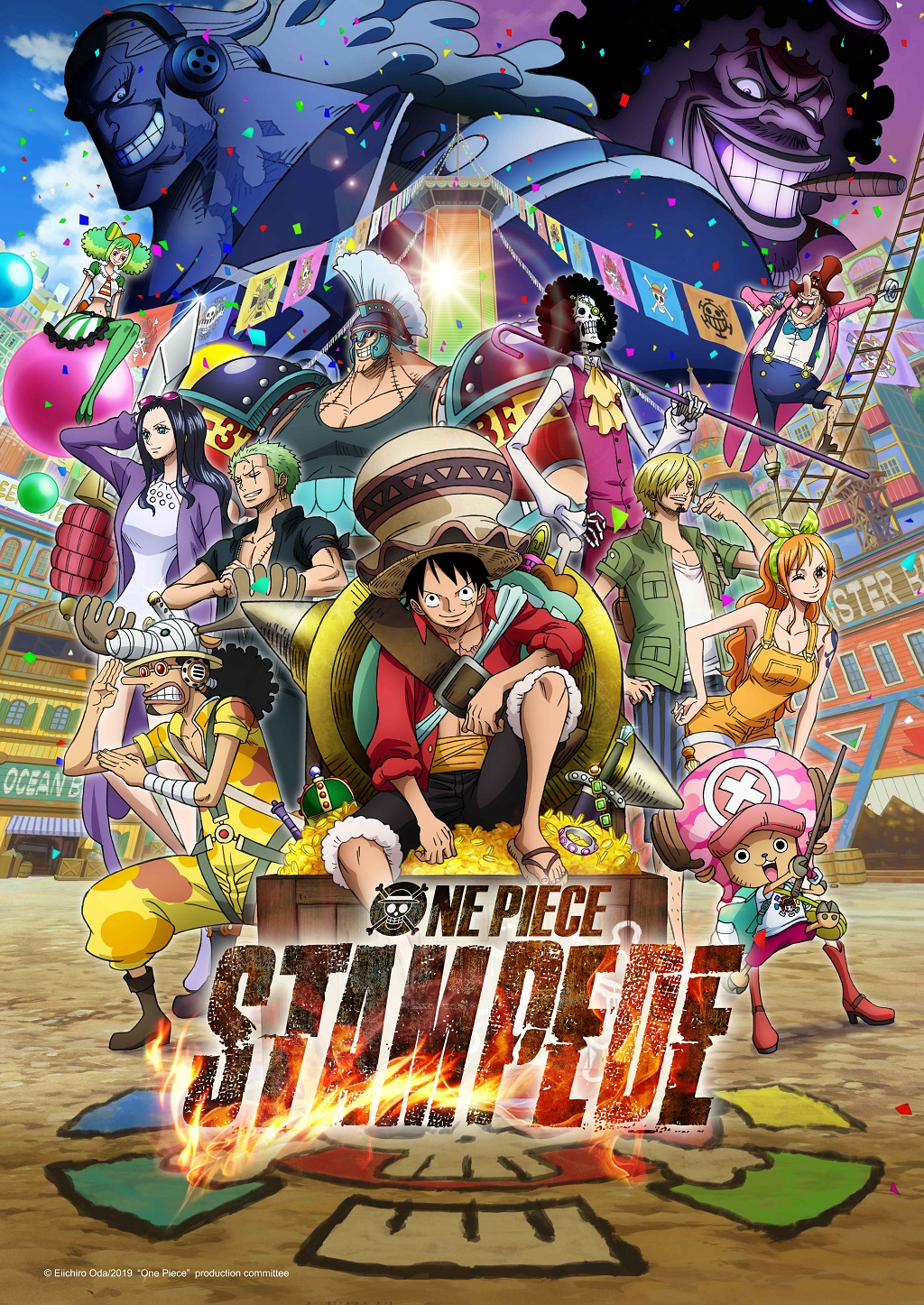 ONE PIECE STAMPEDE PV