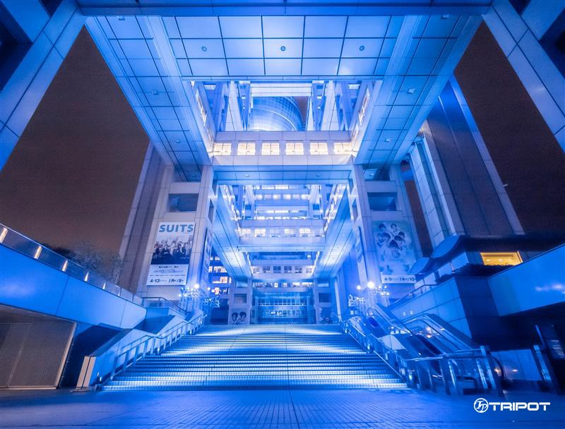 Fuji TV's Illumination AURORA∞ - Grand Staircase